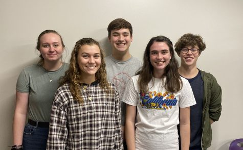 The five SES seniors--Alyssa Johnson, Madeline Blake, Braedon McVay, Jocelyn Pembleton, and Luke Van Tassel--selected for a Dane Hansen interview.