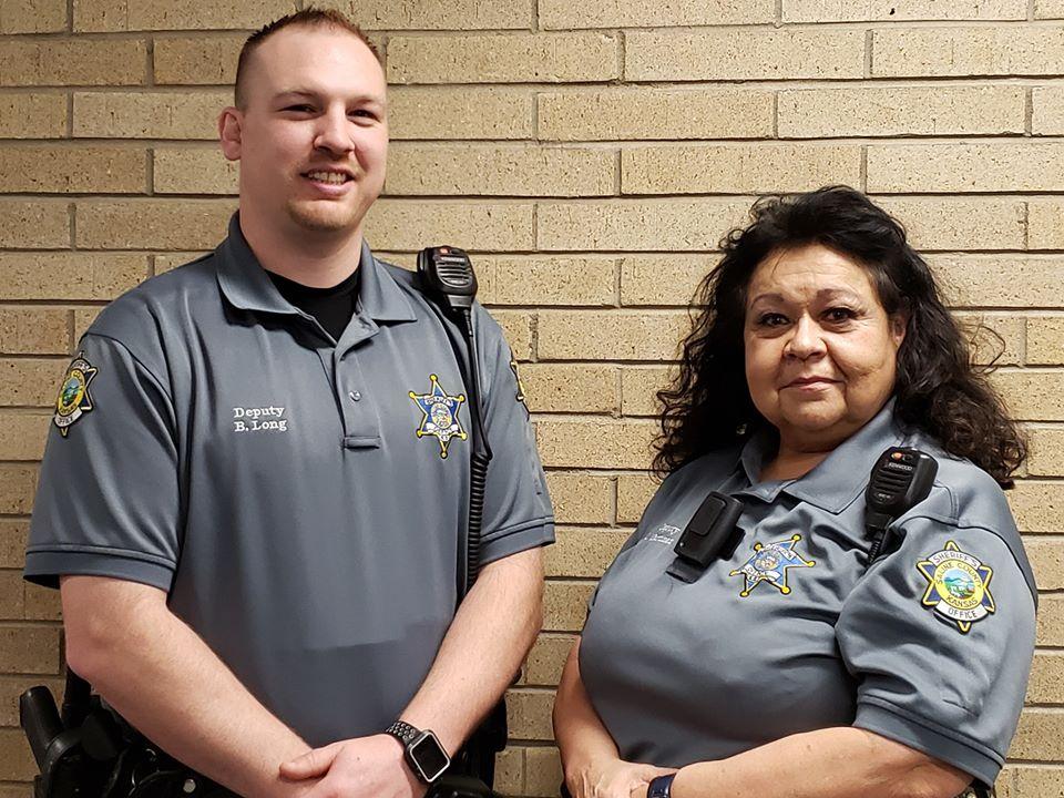 Deputy Braden Long will take over for Deputy Linda Martinez on December 17.