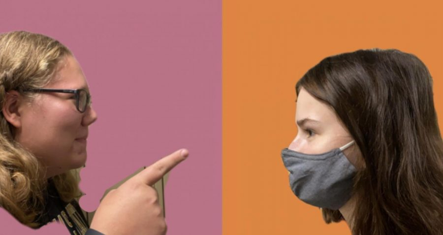 She-Said, She Said: Are Masks Effective or Pointless?